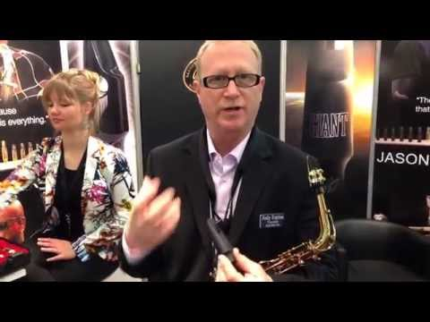 JodyJazz Giant mouthpiece introduced by Jody Espina @MusikMesse 2014
