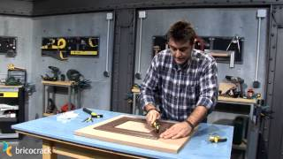 Como poner clavos invisibles en una moldura