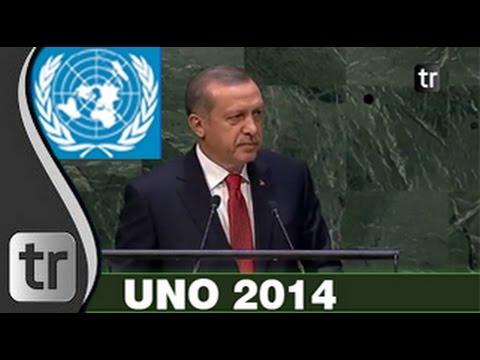 Recep Tayyip Erdoğan UNO 2014 [DEUTSCH] Rede vor UN-Generalversammlung Vereinten Nationen Untertitel