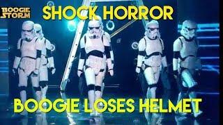 Shock Horror Boogie Loses Helmet