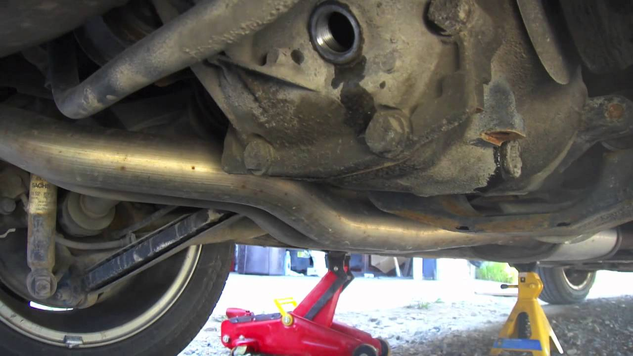 Rear Differential Oil Change Bmw E46 3 Series Youtube