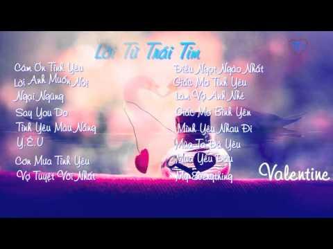 Những bài hát tình yêu nhẹ nhàng cho Valentine 2016