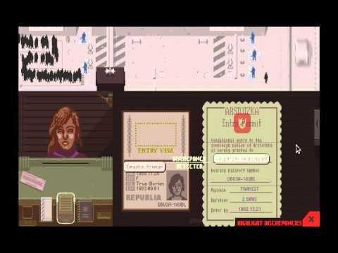 Let's play!: Papers Please Part 2: Ending 1/20