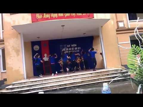Nhảy Number Nine 12C2 Trường thpt Nguyễn Hữu Cảnh