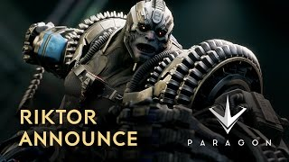 Paragon - Riktor Announce Trailer