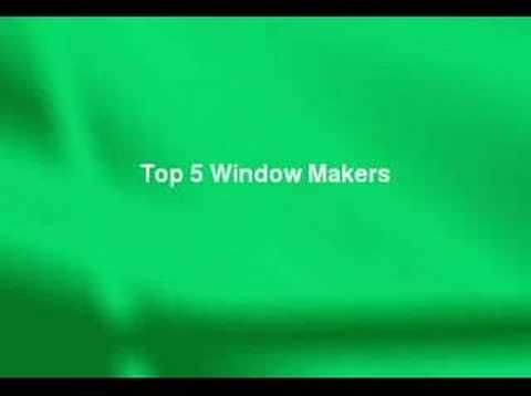 Review of the top 5 replacement window makers youtube for Top 5 replacement windows