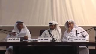 أمسية قصصية للقاصين أحمد العليو، طاهر الزارعي، إدارة جعفر عمران