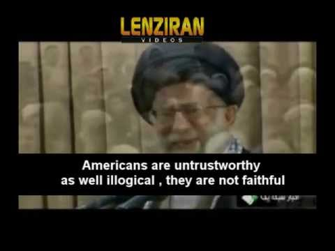 Ayatollah Khamenei react to United States call for negotiation in a speech for IRI Officials