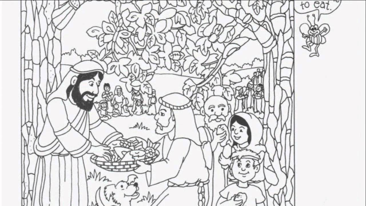 hidden pictures Colouring Pages