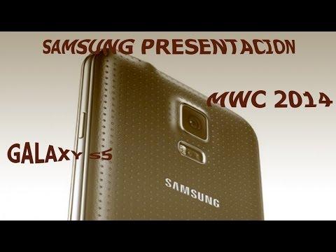Samsung Galaxy S5 | Presentacion Mobile World Congress 2014 | Samsung MWC 2014