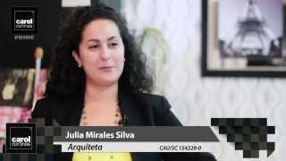 Carol Cortinas - Mostra Casa & Cia 2015 - Julia Mirales