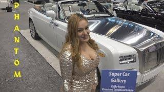 2018 Rolls Royce PHANTOM Convertible - Turbo Power Luxury  - Spokesmodel Walkaround in 4k video