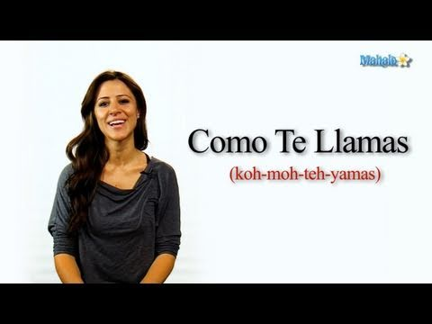 How To Say What Is Your Name In Spanish Youtube
