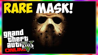 """GTA 5 Online: Rare """"Please Stop Me"""" Mask Online! How To"""