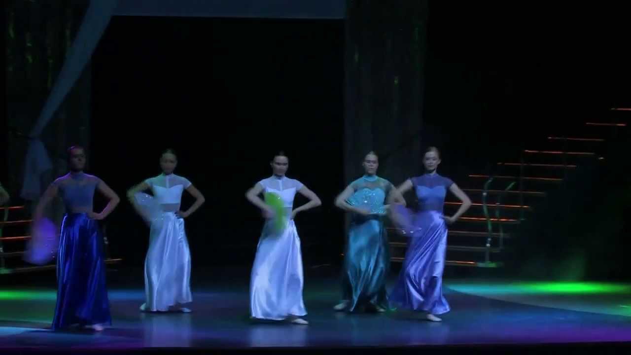 """Отчетный концерт  студии """"DIVA"""" 02.06.2013 года в Гигант-холле. Видео Боди балет."""