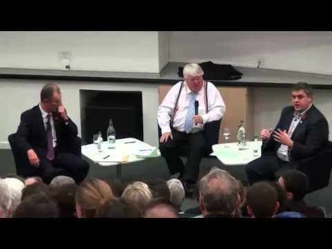 The heads of Yes Scotland and Better Together debate Scottish independence