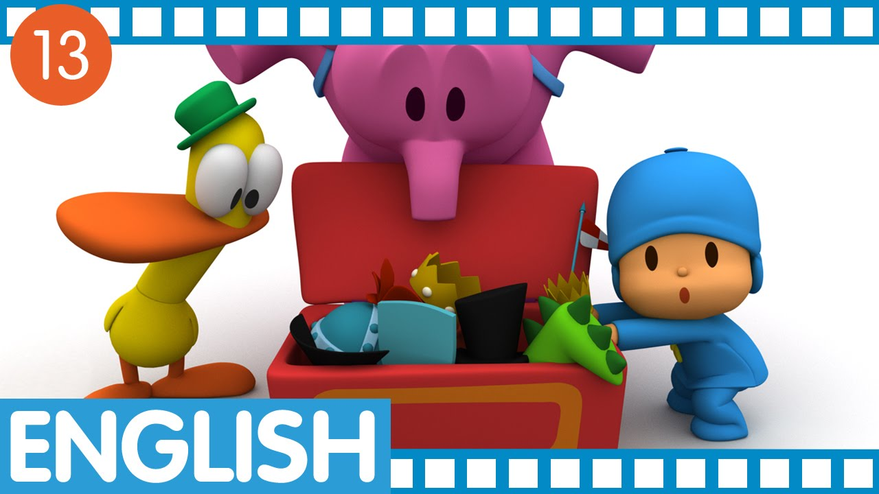 pocoyo in english session 13 ep 49 52 youtube
