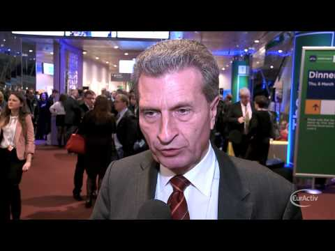 Oettinger on Ukraine: EU should not be 'too offensive' towards Russia
