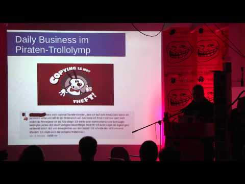 Boomel - Daily Business im Piraten-Trollolymp - RaumZeitLabor - #trollcon13
