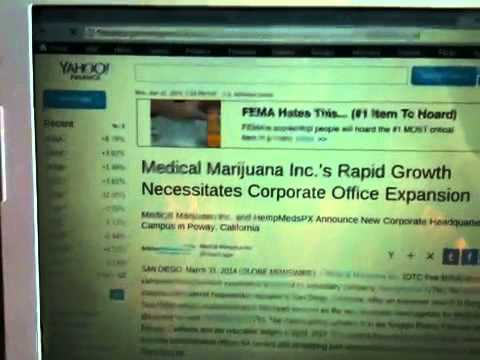 Energy Boom 101: Marijuana Stocks 3-31-14