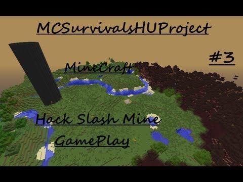 Minecraft - Hack slash mine - 1. rész