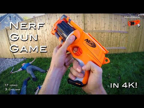 Nerf meets Call of Duty: Gun Game   First Person in 4K!