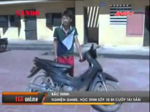 Trẻ trâu xã hội đen xã Thuỵ Hoà, Yên Phong, Bắc Ninh cướp xe máy Hót clip vui hay mới nhất 2014 H