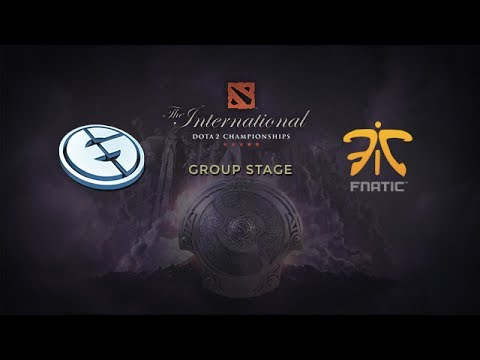 EG -vs- Fnatic, The International 4, Group Stage, Day 1