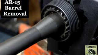 How to Remove an AR-15 Barrel
