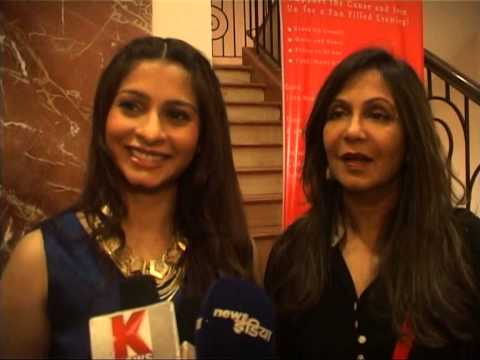 BNBNEWS  KUNIKA LAL TANISHA MUKHARJI AND HARSHITA BHATT AT CHARITY AUCTION FOR FUND