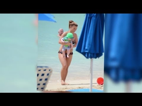 Coleen Rooney Shows Off Her Sensational Bikini Body - Splash News