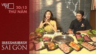 Sướng mắt đã miệng với đại tiệc BBQ trên than củi truyền thống của Nhật Bản | Irasshaimase Sài Gòn