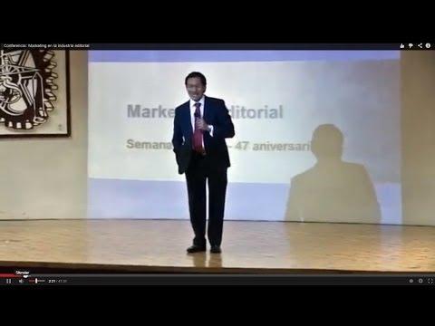 Conferencia: Marketing en la industria editorial
