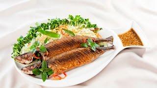 Món Ngon Mỗi Ngày - Cá nục chiên xốt mè wasabi