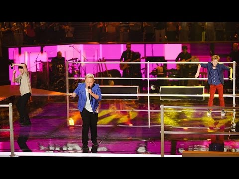Angus, Ky and Robbie Sing I'm A Believer | The Voice Kids Australia 2014