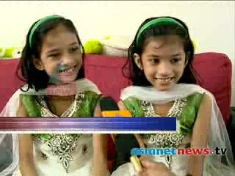 Safa and Marwa act in cinema : Children's  day special