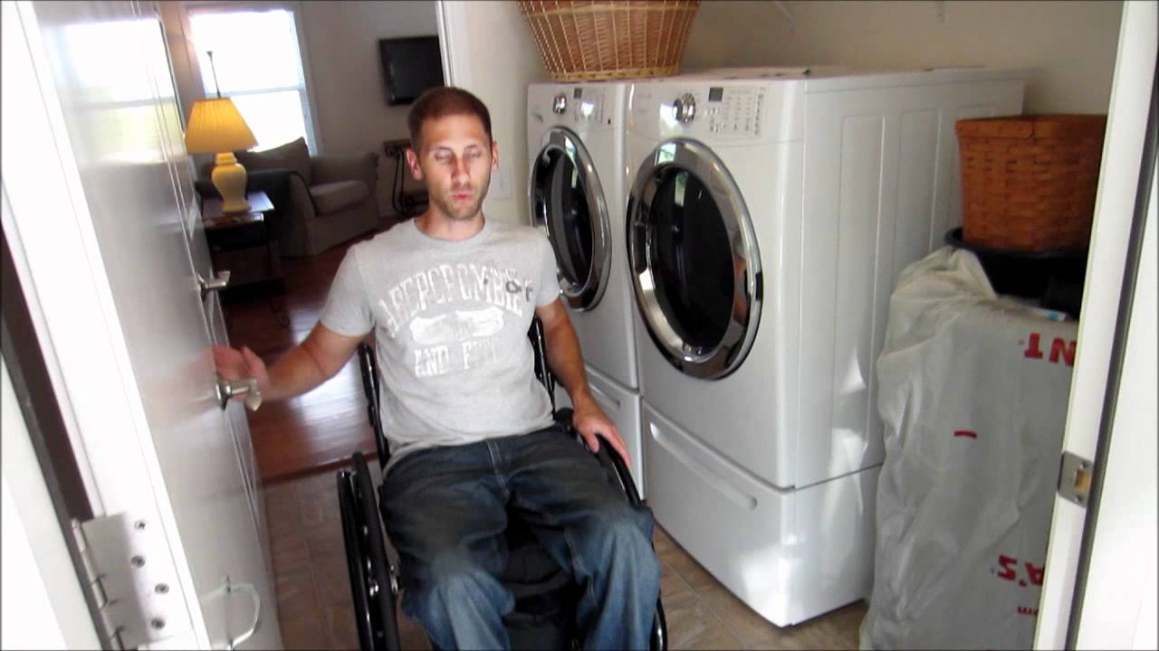 Wheelchair accessible home youtube for Wheelchair accessible houses