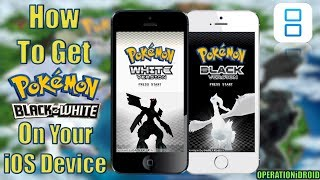 NDS4iOS: How To Get Pokemon Black And/or White (EXP PATCH