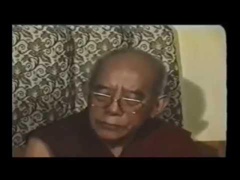 Dalai lama Requested HH Trijang Rinpoche come back to Ganden Monestery India