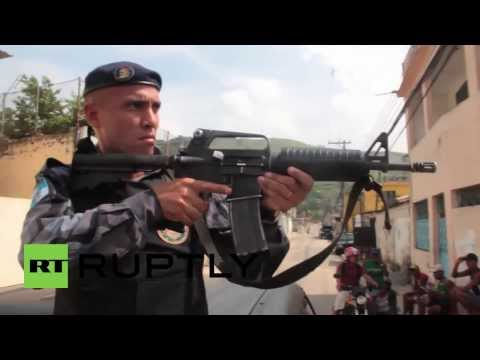 Brazil: Special forces 'clean up' favelas ahead of 2014 World Cup