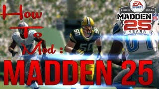 How To Mod: Madden NFL 25 USB Xbox 360
