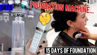 LANCÔME FOUNDATION MACHINE! CUSTOM SHADE Le Teint Particulier {First Impression} Acne/Pale Skin