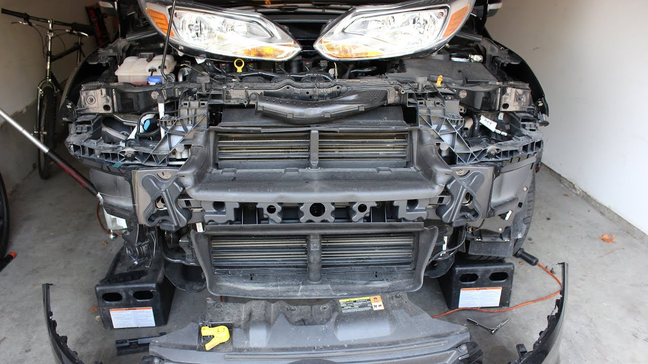 Ford Focus Third Gen - Front Bumper Removal How To Guide Mk3  2011 - Present