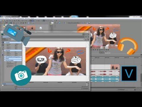 Tutorial como editar un videoblog 1 - Sony Vegas Español (texto, imagen, vídeo y música de fondo)