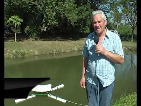Aireadores de estanque a energ a solar y comederos de for Como hacer piscinas para tilapias