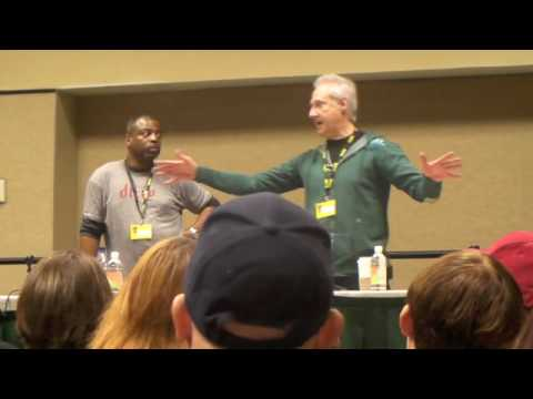 Brent Spiner & LeVar Burton Q&A Panel (Part 4/5)