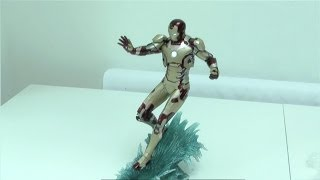 Kotobukiya Iron Man Mark 42 ArtFX Statue MK148 Review By