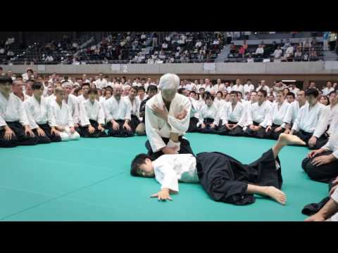 Aikido Class: Moriteru Ueshiba Doshu - 12th IAF Congress in Takasaki