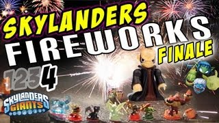 Skylanders Fireworks W/ Kaos The Surprise Finale (pt. 4