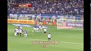 AE relembra gols do Cruzeiro anulados irregularmente pela arbitragem